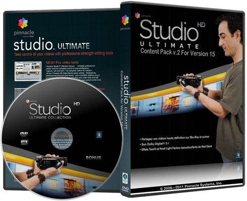 Pinnacle Studio 15 Content (v.2.0 Light) Русская версия